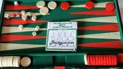 Backgammon Koffer zu verkaufen offen
