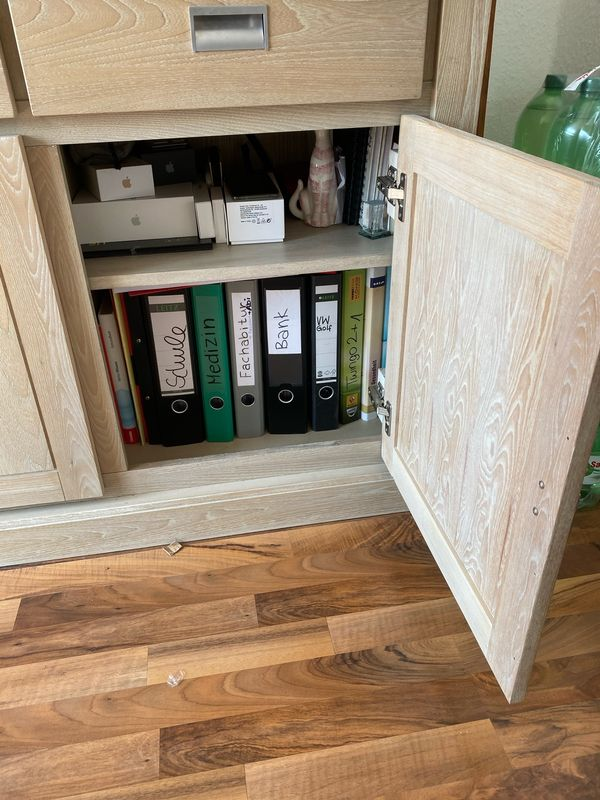 Sideboard Wohnzimmerschrank BHT 166x 90x