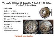 Verkaufe SHIMANO Kassette 7fach 14-28