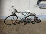 Altes Fahrbereites Turmberg redro Fahrrad