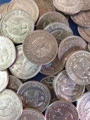 100 x 5 Reichsmark Silbermünzen