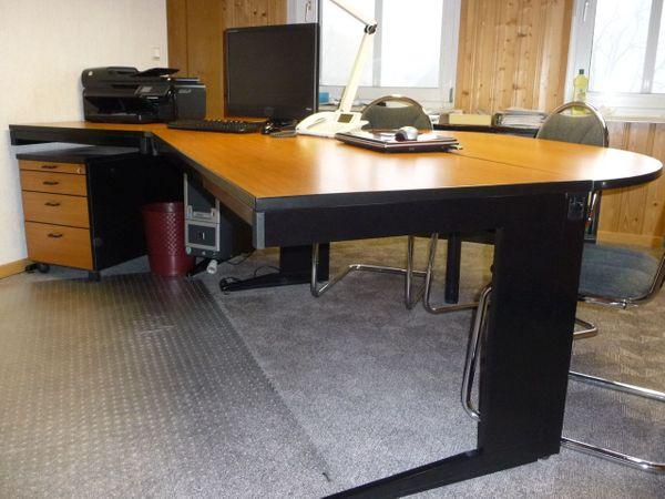 Schreibtischkombination und Schränke Fabrikat PALMBERG