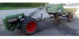 Traktoren, Landwirtschaftliche Fahrzeuge - Holder E12