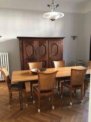 hochwertiger Esstisch und Stühle