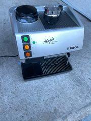 espressomaschine saeco magic mit integriertem