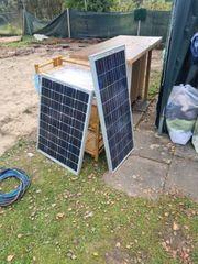 2x 50 Watt Solarmodule mit