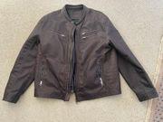 Schicke Jacke im Bikerstyle Gr