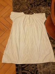 Antik Leinen Nachthemd Beutel Schuhsack