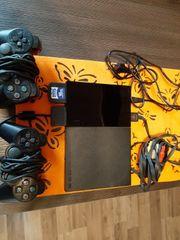 Playstation 2 mit Zubehör