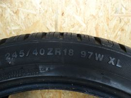 4x Winterreifen 245-40-18-97H XL Kumho: Kleinanzeigen aus Schwarzenbruck - Rubrik Winter 195 - 295