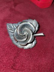 Silber Brosche Anstecknadel Antik Blume