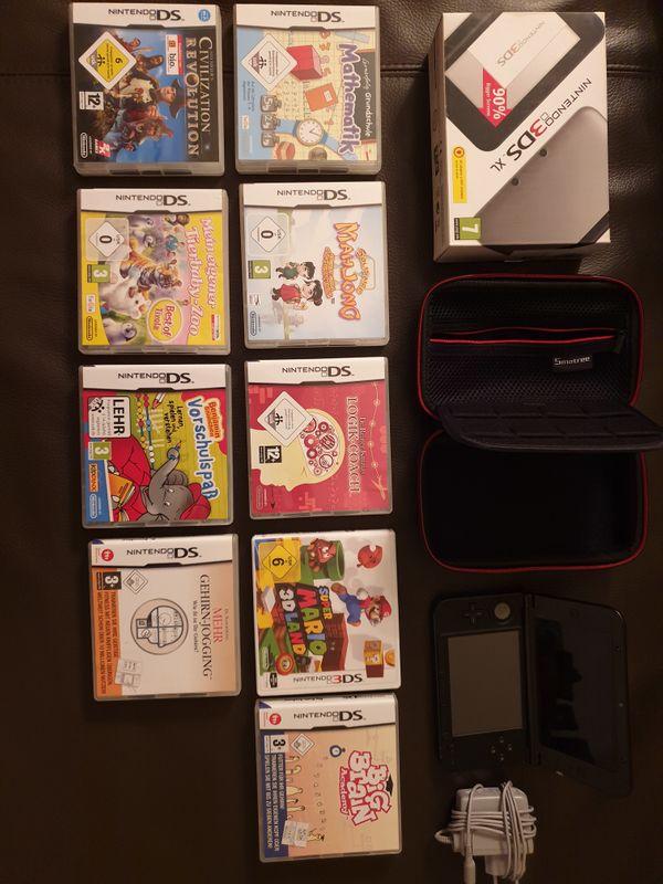 Nintendo 3 DS XL mit