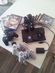 Playstation 2 mit vielen Extras