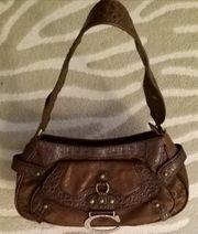 L CREDI Handtasche Braun