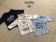 Baby Langarmshirt Pullover gr 56