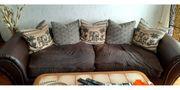 3-teilige Wohnzimmergarnitur im Afrikanischer Stil