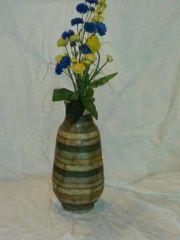 Verkaufe eine selbsthergestellte Vase