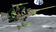 LEGO Fantasy Raumgleiter grau