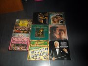 Sammlung LPs Operette Klassic 8