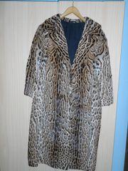 Ozelot Pelzmantel mit Cite Leopardus