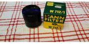 Ölfilter Ford MANN W712 1
