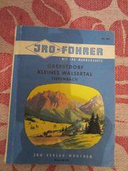 Reiseführer Wanderführer Sammlerstück Oberstdorf Kleines