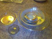 Glasschalen groß und klein