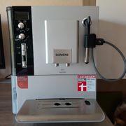 Siemens Vollautomat Kaffeemaschine TE503501DE silber