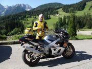 Biete ALNE-Motorrad-Lederkombi Känguruleder H-Gr 48