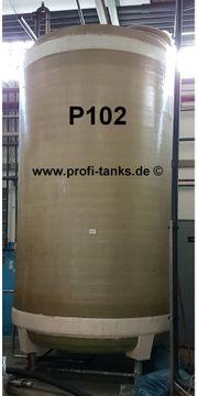 P102 gebrauchter 10 000L Polyestertank