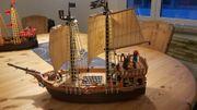 Playmobil Piratenschiff gebraucht