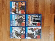 Verschiedene PS4 Spiele