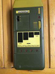 Proxxon-Gerät zum Aufspüren von Unterkonstruktionen