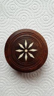 Kleine Schatulle aus Edelholz Aufbewahrung