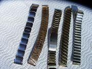 5 Metall Uhrenbänder