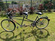 Tandem Fahrrad Marke Schauff 21