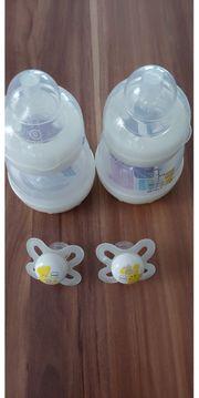 2 NEUE MAM Anti-Colic Flaschen