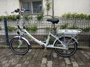 E-Bike Klappfahrrad