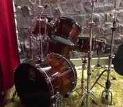 Schlagzeug - Yamaha Live Custom OAK -