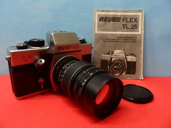 Oldtimer Zubehör Fotoapparat Kamera REVUE