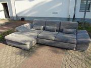 Polster Sofa-Wohnlandschaft mit Schlaffunktion B