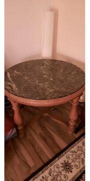 Marmortisch Durchmesser ca 90 cm