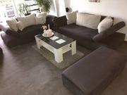 Couchgarnitur schwarz