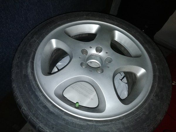 Mercedes orginal 17Zoll Alu Winterreifen