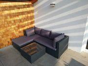 Lounge Sitzgruppe Rattan