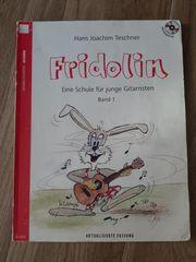 Gitarren Lernhefte Fridolin Band 1