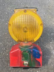 Horizont Signal Baustellen-Strahler mit Blitzlicht