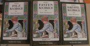 3 St Kochbücher Reprint von