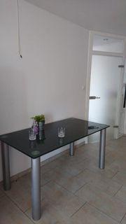 Zeitloser eleganter und pflegeleichter Glastisch