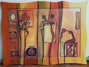 Große Bilder im Afrikanischen Stil